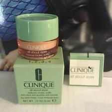 NEW  in Box Authentic Clinique All About Eyes Reduces Puffs Circle 0.17oz/5ml