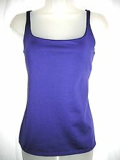 Women's New York & Company Casual Purple Cami Tank Top Size Large