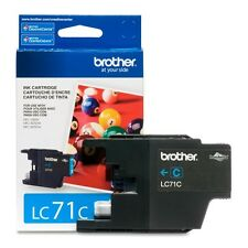 Genuine Brother LC71 Cyan ink LC 71 LC71C  DCP J525W J725DW J925DW J280W J425W