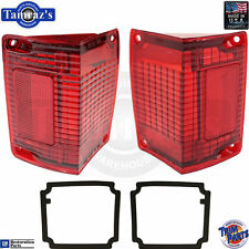 70-72 El Camino / Wagon Taillight Tail Light Lamp Lens with Gaskets  USA  - PAIR