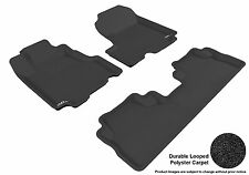 3D Anti-Skid 1 Set Fits CR-V 2007-2011 GTCA30711 Black Carpet Auto Parts Perform