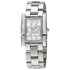 Milus Apiana White Dial Diamond Ladies Watch API012