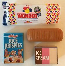 Kitchen Littles Tyco Food Mart Replacement Wonder Bread Food Barbie Size Diorama