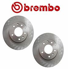 NEW Mazda 6 2003-2005 Pair Set of Front Disc Brake Rotors Brembo GK2Y 33 25XF