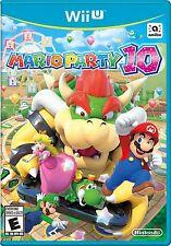 NEW Mario Party 10 (Nintendo Wii U, 2015)