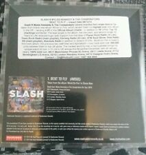 SLASH BENT TO FLY PROMO CD GUNS N ROSES MYLES KENNEDY