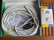 Teichheizkabel Heizkabel Teichheizung 150 Watt Set