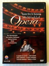 My World of Opera: Kiri Te Kanawa (DVD, 2006) ~ Rare OOP Kultur Music Movie