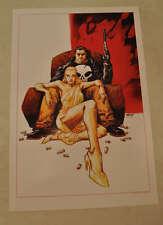 Punisher Vette Little Black Book Marvel Max Poster Print 12 x 18 Dave Johnson