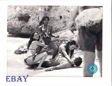 Sexy babes w/knives VINTAGE Photo Island Of Lost Girls
