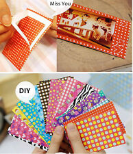 20pcs Film Polaroid Craft Washi Film Skin Photo Decoration Stickers Tape Paper