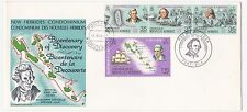 New Hebrides 1974 Bicentennial Cacheted UA FDC