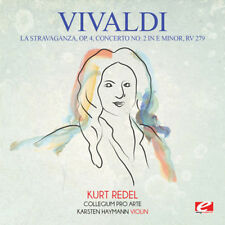 La Stravaganza Op. 4 Concerto No. 2 In E Minor Rv - Vivaldi (2015, CD NEUF)