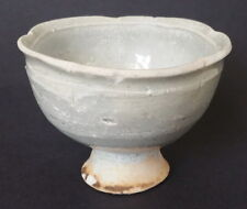 Antique Chinese Qingbai Stem Cup Yuan Dynasty 14-15th  Century