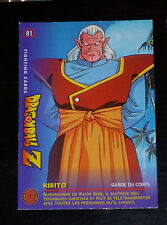 DRAGON BALL Z GT DBZ FIGHTING CARD CARDDASS NOT PRISM CARTE 81 JAPAN 1999 PANINI