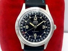 Vintage ORIS Pointer Date Automatic 7403-40 Stainless Steel Mens WristWatch