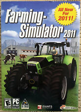 FARMING SIMULATOR, 2011 PC VIDEO GAME, WINDOWS XP, VISTA, WINDOWS 7, NEW, SEALED