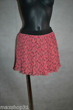 JUPE  KAPORAL TAILLE 34/36 XS  SKIRT/ROCK/GONNA/FALDA NEUF  FLUIDE PLISSE NEW