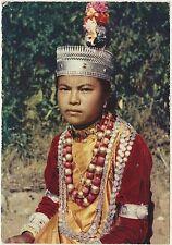 LE TRIBU' DELL'ASSAM - I KHASI ASSAM TRIBES - PRONTA PER LA DANZA (INDIA) 1966