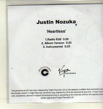 (CW304) Justin Nozuka, Heartless - 2010 DJ CD
