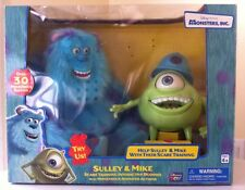 Disney PIXAR MONSTERS INC Scare Training Interactive Buddies Sulley & Mike-RARE!