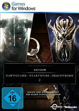 PC Elder Scrolls V (5) Skyrim - Add-on Set Dawnguard, Hearthfire und Dragonborn