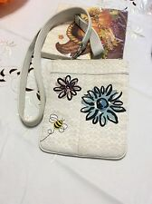 Coach Bumble Bee Flowers  Crossbody Bag