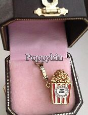 RARE & BRAND NEW JUICY COUTURE POPCORN BRACELET CHARM IN TAGGED BOX