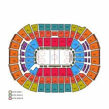 2 TICKETS CAPITALS v PENGUINS, GAME FIVE, CAPS' DEFEND GOAL