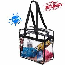 Clear Tote Bag Bags Handbag Crystal PVC Women Shoulder Fasion Transparent Beach