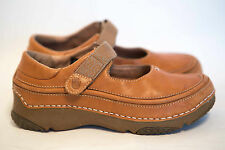 Ladies Size US 5 EUR 36 Brown Leather TEVA Velcro Shoes 6538