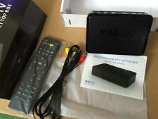 100Pcs Infomir MAG250 MAG 250 FULL HD Set-Top Box IPTV Streamer Linux IP TV
