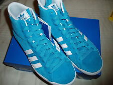 ADIDAS ORIGINALS BASKET PROFI WOMAN BLUE Sz 41-1/3 - US 9 SHOES SCARPE SUEDE