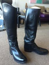 "AUTH DEHNER OMAHA. NEBR. ""THE BASIC"" RIDING / DRESS BOOTS SZ 7.5 NARROW SHAFT"