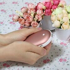 Cobblestone USB Charger Electric Hand Warmer Rechargeable Heater Rose 5000mah