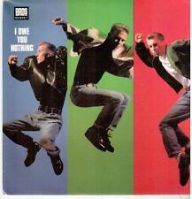 """2590-19  7"""" Single: Bros - I Owe You Nothing"""