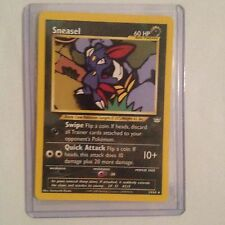 Sneasel Pokemon Card 24/64 Neo Revelation Near Mint Minus Condition (NM-)
