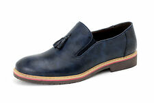 Mens Slip On Smart Tassel Shoes Casual Loafers Dress Office Size 6 7 8 9 10 11