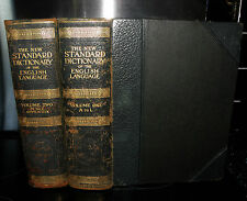 New Standard Dictionary Of The English Language Upon Original Plans. 2 Vols 1922