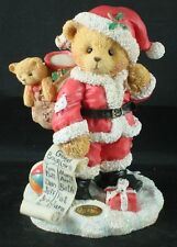"""Cherished Teddies, NICKOLAS """"You're at the Top of my List"""" Figurine, 1995"""