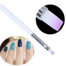 2PCS Acrylic Polish Painting Drawing UV Gel DIY Brush Pen Tool Nail Art Tips Set