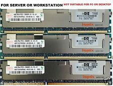 24GB(6x4GB) PC3-10600R DDR3 1333MHz ECC RAM FOR DELL Precision R5500 T5500 T7500