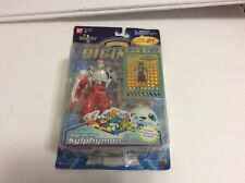 "DIGIMON Digivolving Sylphymon New 6"" w Trading Card Factory Sealed 2000"