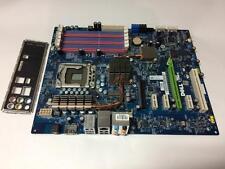 GENUINE DELL X501H STUDIO XPS 435T / 9000 MOTHERBOARD + I/O PLATE