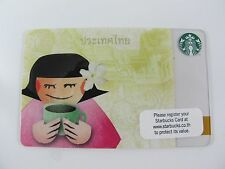 Starbucks Thailand Thai Girl & Temple of the Emerald Buddha Gift Card