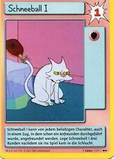 Simpsons Karte - Schneeball I