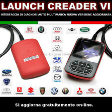 Diagnosi auto LAUNCH VI 6 scanner OBD2 OBDII SCANTOOL CREADER VI italiano 2017*