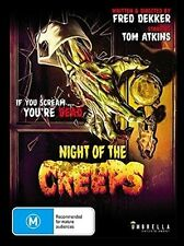 Night Of The Creeps DVD Region ALL