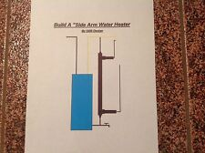 Side Arm Water Heater Plans 4 Outdoor Wood Burner DIY Plans on CD