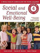 Social and Emotional Well-Being Growing, Growing Strong